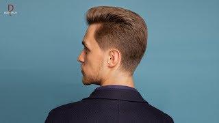 DEMETRIUS | Классическая мужская стрижка с проработкой опасной бритвой