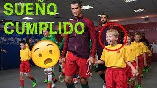 Cuando los niños conocen a sus ídolos del fútbol | Momentos hermosos.