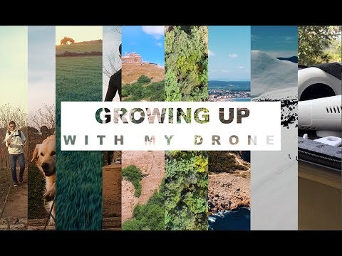Growing up with my Drone (DJI phantom 3 Standard)