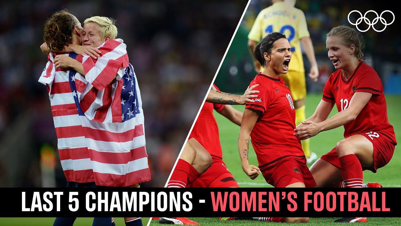 Download Women's Football ⚽ Last 5 Champions!