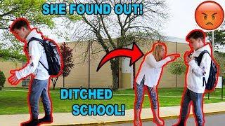 SKIPPING SCHOOL BEFORE SPRING BREAK! *CAUGHT*