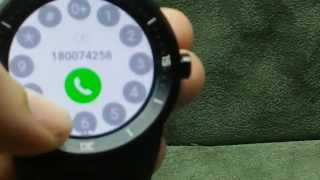 Android Wear 5.1.1 has arrived! G Watch R - Quick Tour