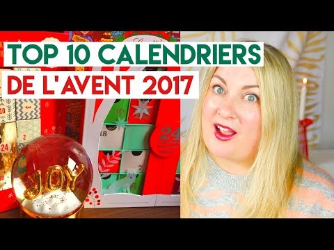 top 10 calendriers de l avent 2017 id es de cadeaux de no l youtube. Black Bedroom Furniture Sets. Home Design Ideas