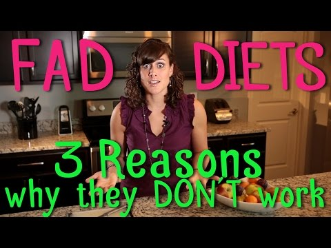 Varvelicious: 3 Reasons Why Fad Diets DON'T Work