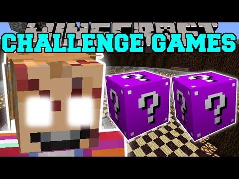 Minecraft: CHUCKY CHALLENGE GAMES - Lucky Block Mod - Modded Mini-Game