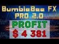 Profit $4381 | Forex Live Trading 17.10.2018 | BumbleBee FX Pro 2.0