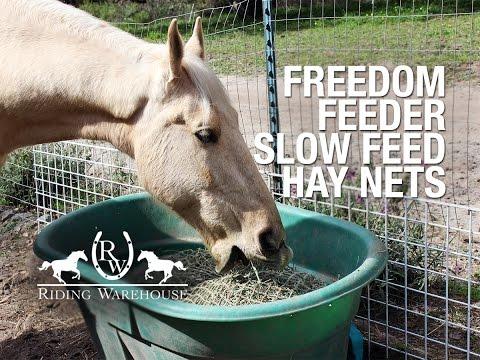 Review: Freedom Feeder Slow Feeding Hay Nets