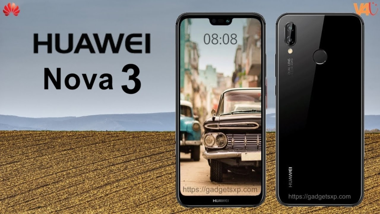 finest selection 73529 b43d2 Huawei Nova 3 Release Date, Specifications, Official Look, Features,  Camera, First Look, Launch