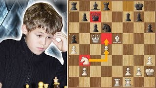 Could You Beat Kasparov in This Game? Carlsen Almost Did it