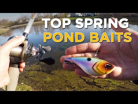 The Best Pond Bass Fishing Lures To Fish In Spring