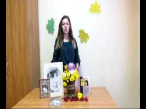 Изображение предпросмотра прочтения – ДианаТкачева читает произведение «Тоска по родине» М.И.Цветаевой