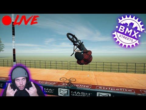 BMX STREETS PIPE! LIVE STREAM! DISCOUNT CODE!