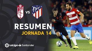 Resumen de Granada CF vs Atlético de Madrid (1-1)
