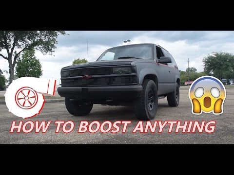 How to Build Your Own Turbo Kit!!!