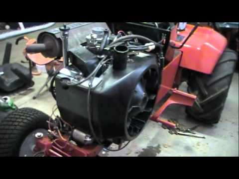 Wheel Horse 520H Onan Start Attempt Part 28  YouTube