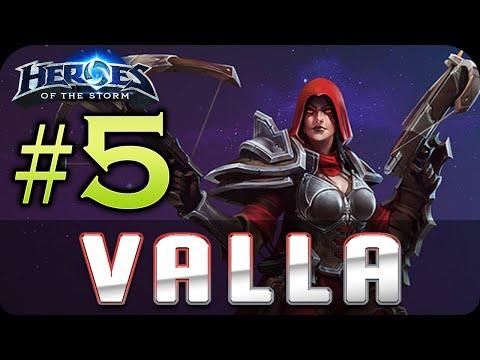 видео: hero league / Лига Героев - heroes of the storm - valla #5