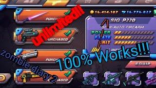 Cara cheat zombie diary 2 unlimited gems dan coins | Indonesia screenshot 3