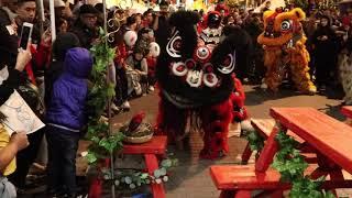 Moon Festival Bench Routine   August 2019   AUS Jing Yee Lion Danc