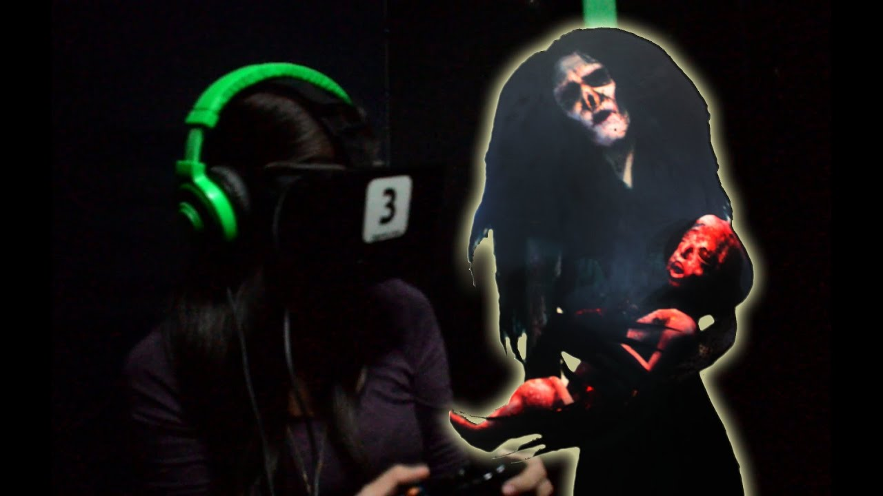 Playing KUNA (Oculus Rift Horror Game) by Synergy88 Studios at APCC 2015