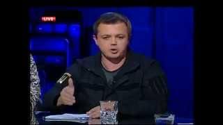 Семен Семенченко  на Шустер LIVE  10.11.2014