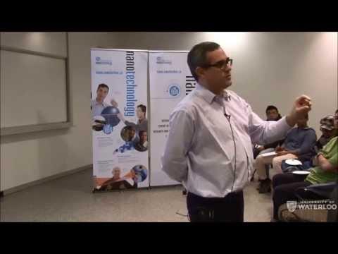 Dr Alexandre Brolo - Waterloo Institute for Nanotechnology (WIN) Seminar