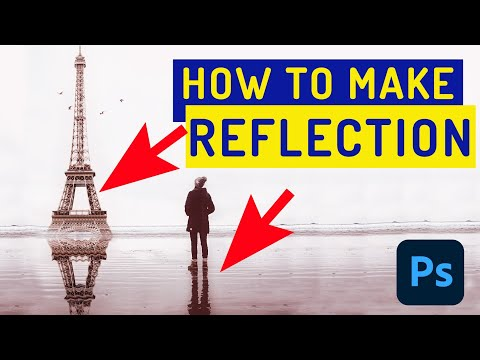 How to make Realistic Reflections in Photoshop CC, CS6 - Photoshop Tutorial thumbnail