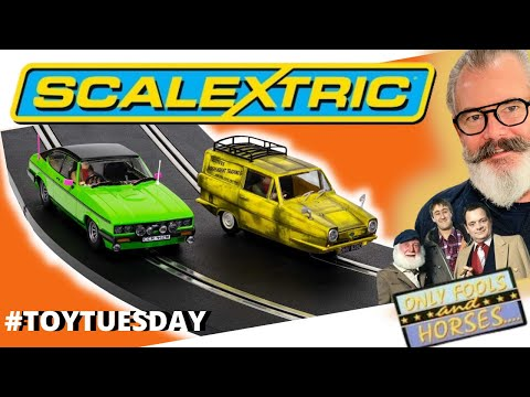 Only Fools And Horses New Scalextric Twin Set Of Slot Cars Unboxing & Review #toytuseday
