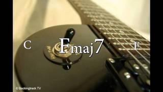 Pop Rock Ballad Guitar Backing Track in D Minor / F Major