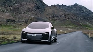 Audi Concept Car | 2018 Audi Aicon Interior and Exterior.
