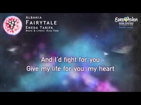 Eneda Tarifa - Fairytale (Albania) - [Karaoke version]