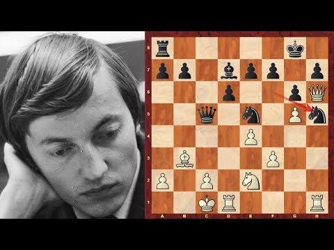 Amazing Chess Game : Anatoly Karpov vs Evgeny Gik - Moscow ...