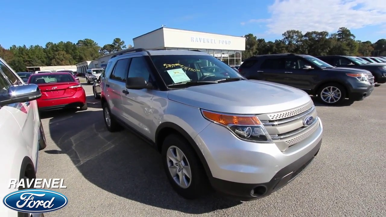 2014 ford explorer base model review for sale at ravenel ford nov 2017