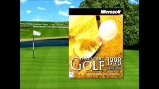Microsoft Golf 1998 Edition - Trailer (deutsch / german)
