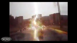 Spectacular close-up Lightning strikes (Prt 3)