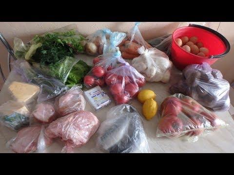 Покупки продуктов на праздник на 2000 рублей