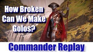 How Broken Can We Make Golos vs Golos Llawan Cephalid