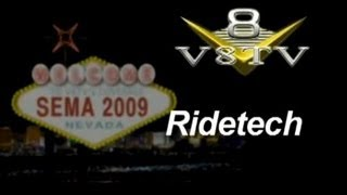 SEMA 2009 Video Coverage: RideTech - V8TV