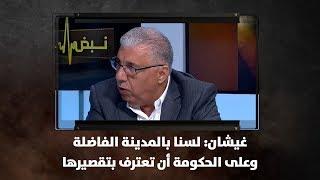 غيشان: لسنا بالمدينة الفاضلة وعلى الحكومة أن تعترف بتقصيرها