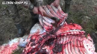 Разделка лося ножами и топором Сёмина Ю.М. Часть 3