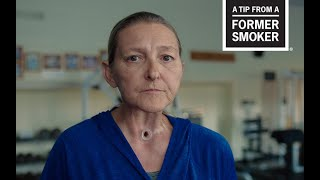 "CDC: Tips From Former Smokers - Sharon's ""Treadmill"" Tips Commercial"