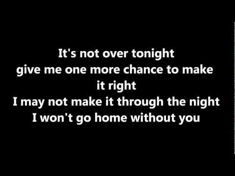 Won't go home without you (Acoustic) Lyrics - Maroon 5