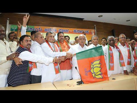 Karnataka Assembly polls : Basanagouda Patil Yatnal joins BJP in Bengaluru | Oneindia News