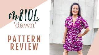 Dawn McCall's M8104 Sewing Pattern Review