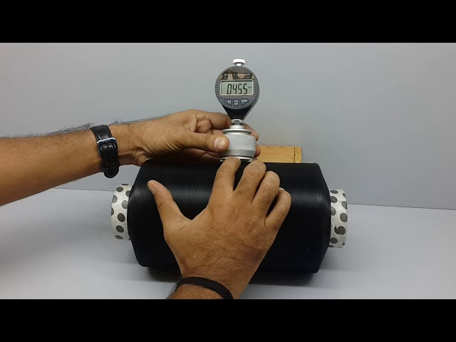 Digital Yarn Package Hardness Tester, Shore Duro Meter