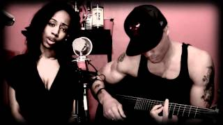 Talk That Talk Rihanna ft. Jay-Z(acoustic cover) La'Rayne & Big Brandon Carter (not official video)