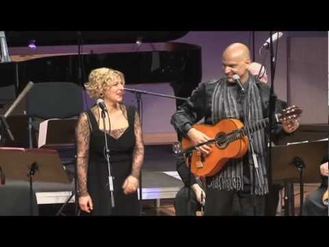 LA ROSA LINDA performed by Gerard Edery and Maria Krupoves with the Klaipeda Chamber Orchestra