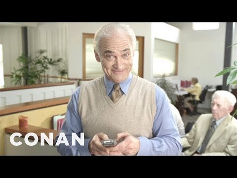 Senior Tech 101: Texting is listed (or ranked) 15 on the list The Very Best Viral Conan Clips of 2012