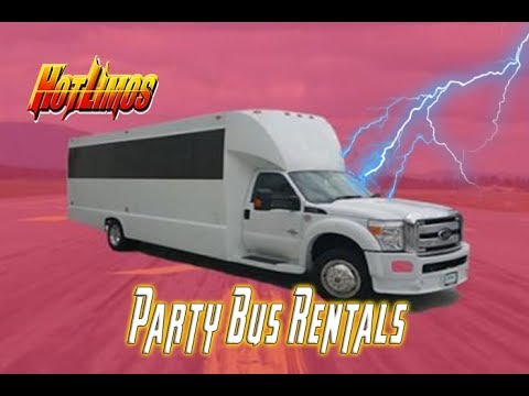 Party Bus San Diego - 25 Passenger Party Bus - San Diego Limo Rental (New)