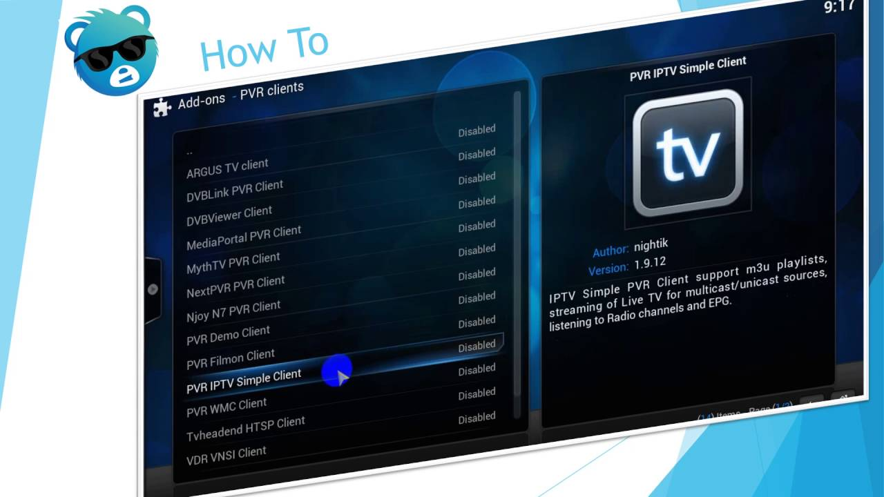 how to get kodi channels
