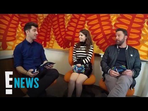 "Anna Kendrick & Ben Affleck Dish on ""The Accountant"" | E! News"
